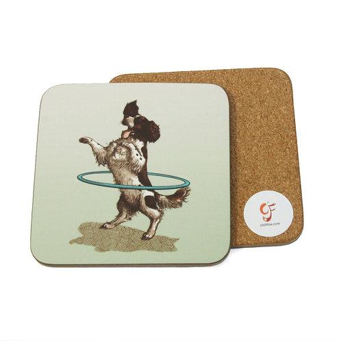 Spaniel Hula Coaster