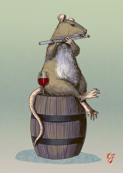 Ratty Flautist