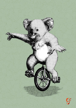 Koala Unicycle