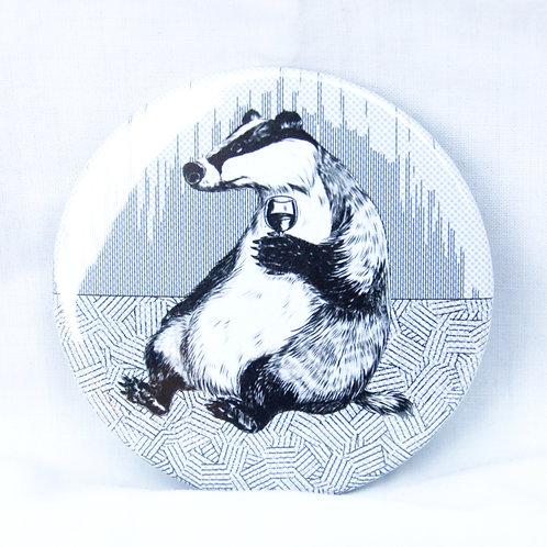 Badger Wine Magnet