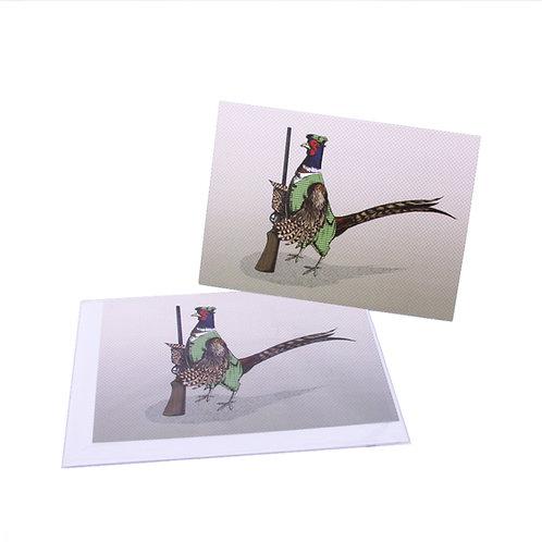 Pheasant Hunter Card