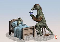 Dinosaur bedtime stories