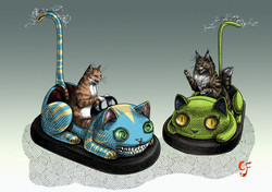 Cat Dodgems