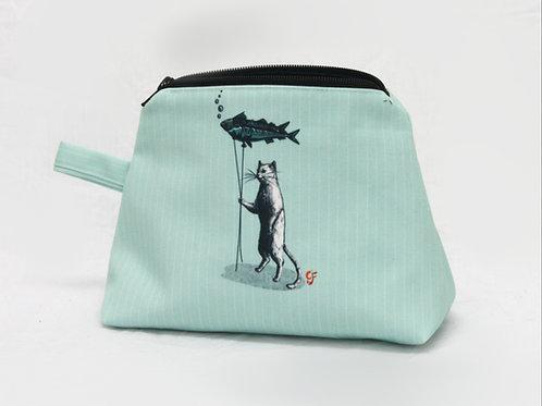 Cat Fish Ballooon Washbag