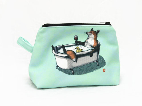 Fox Bath Washbag version 3