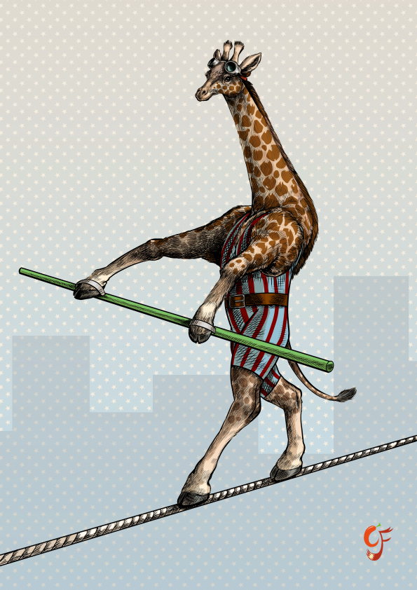Giraffe Tightrope