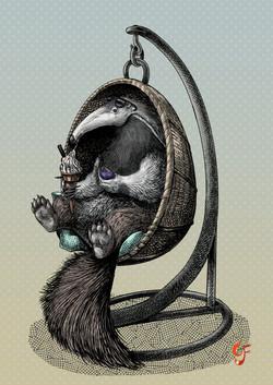 Anteater Egg Chair