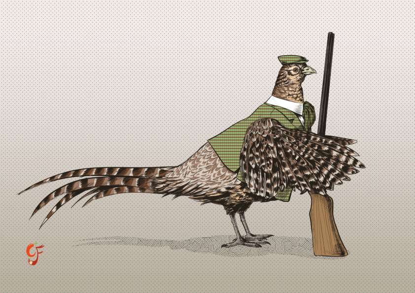 Pheasant Huntress