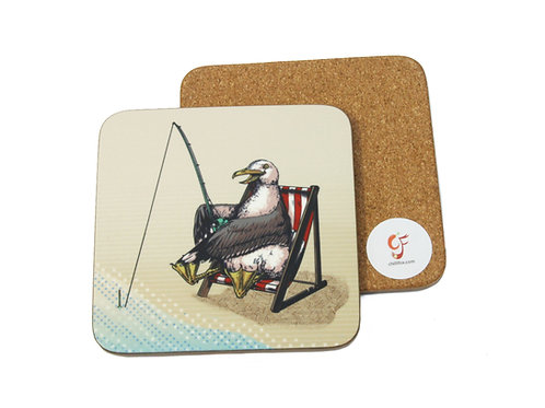 Seagull Fisher Coaster