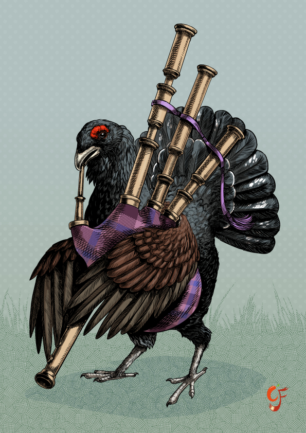 Capercaillie Bagpipes
