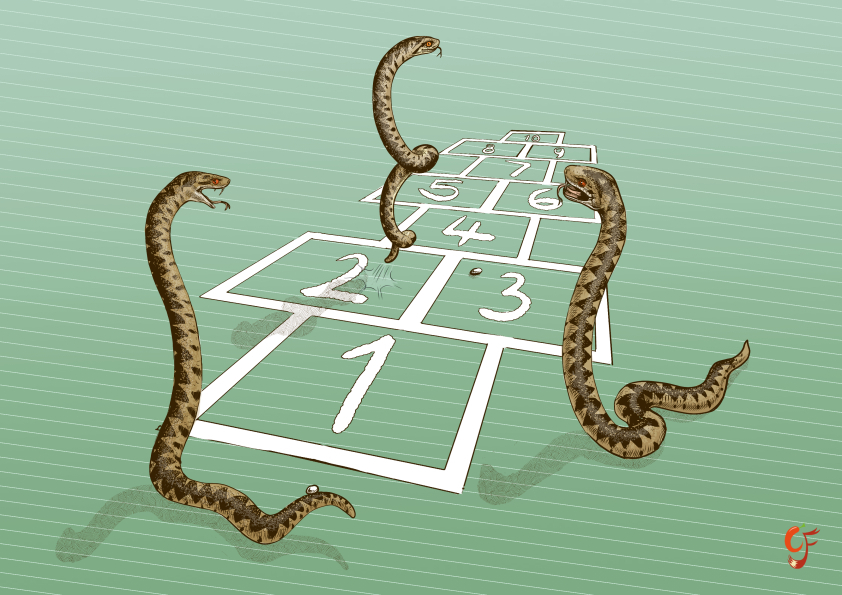 Adder Hopscotch