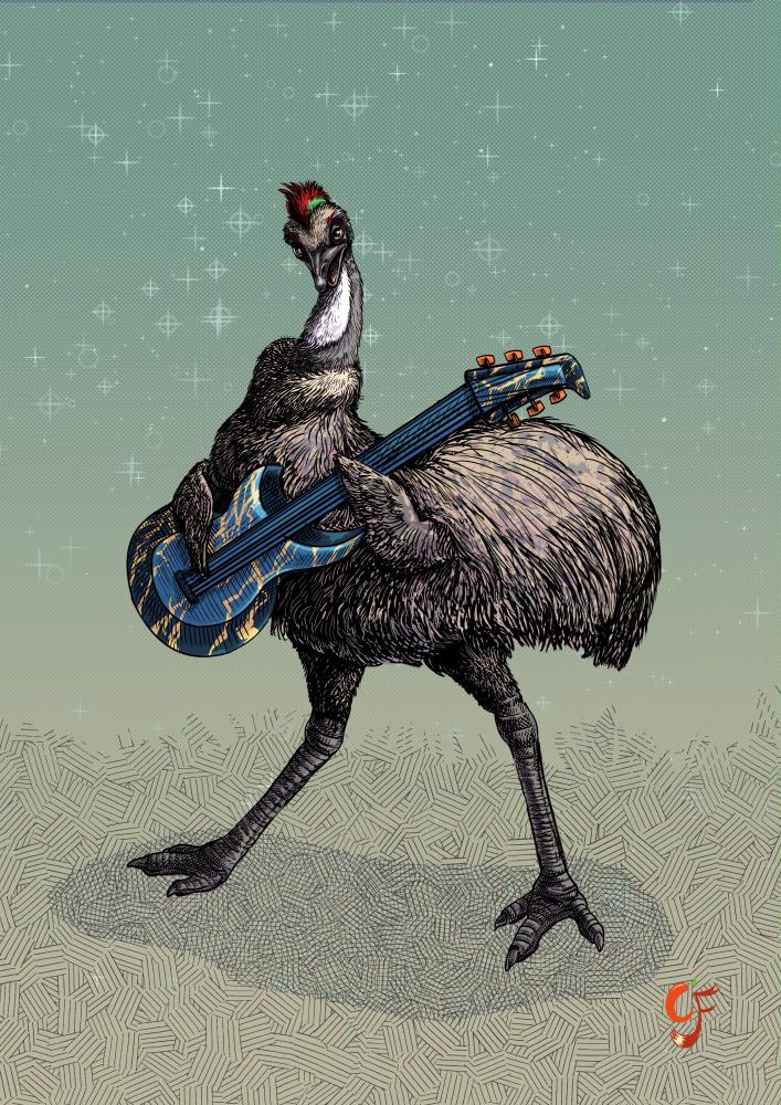 Rock Emu