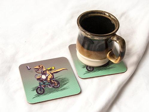 T-Rex Paperboy Coaster