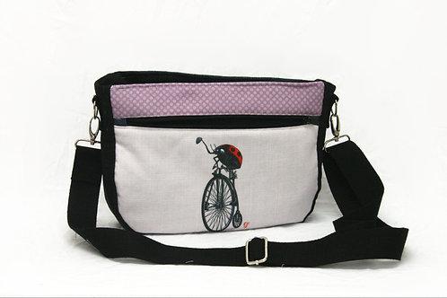 Ladybird Pennyfarthing Crossbody Bag