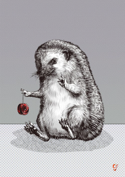 Hedgehog Yo-yo