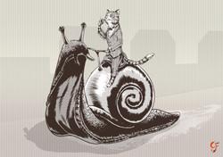 Victorian Cat Snail