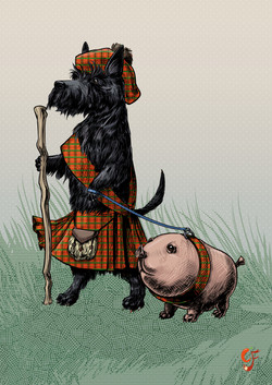 Scottie and Haggis