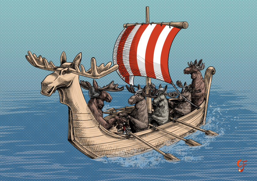 Viking Moose