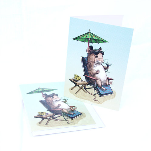 Mouse Cocktail Card