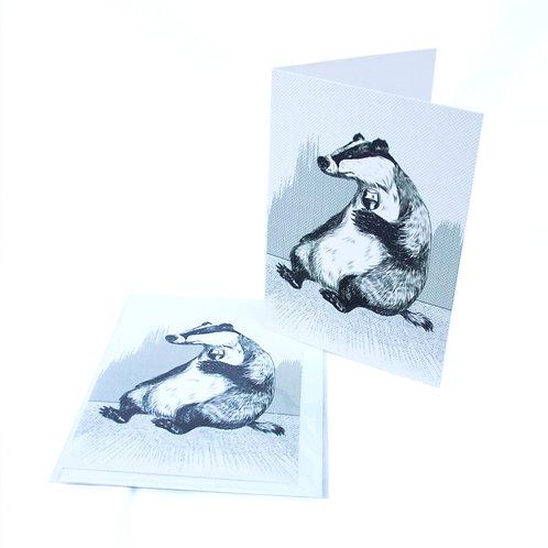Badger Wine Card
