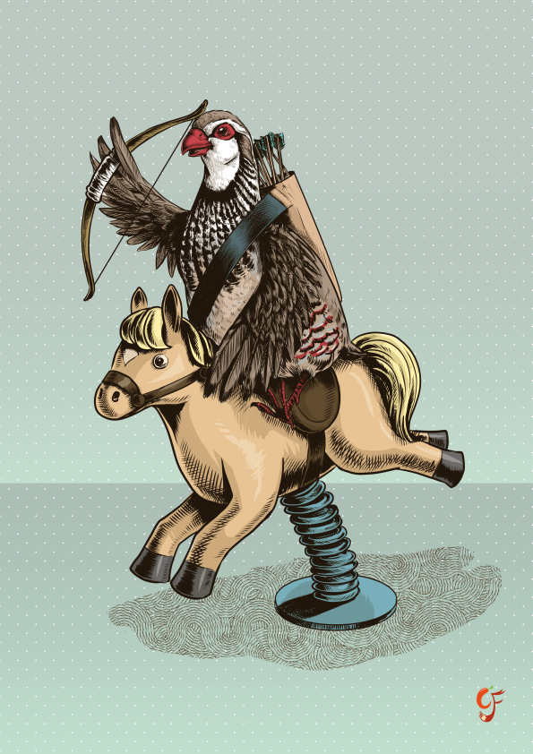 Partridge Rider