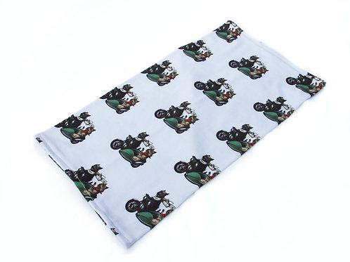 Motorcycle Terriers Neckwarmer