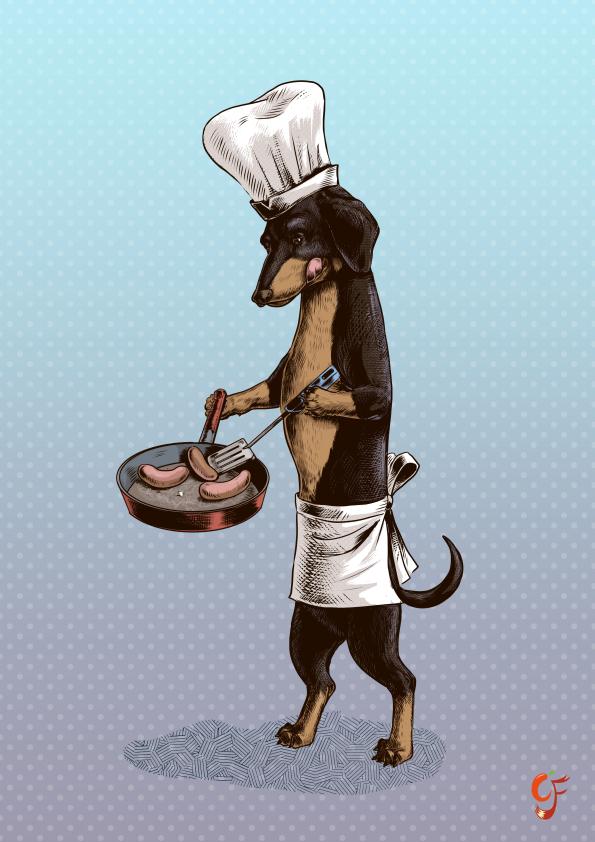 Dachshund Cook