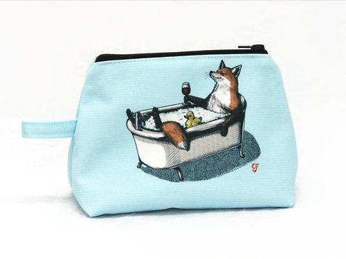 Fox Bath Washbag version2