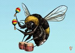 Bee Maracas