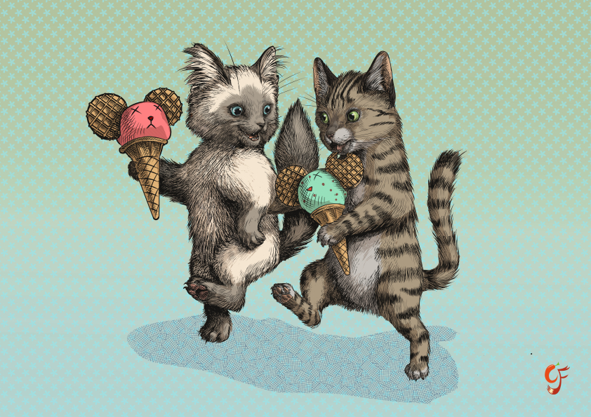 Micecream kittens