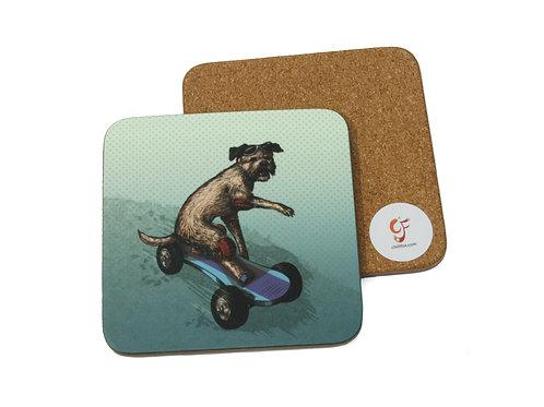 Boarder Terrier Coaster