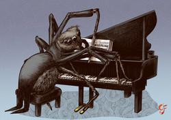 Spider Pianist