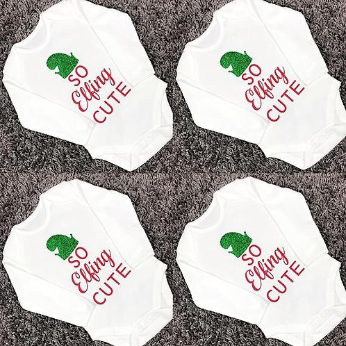 So Elfing Cute Baby Vest