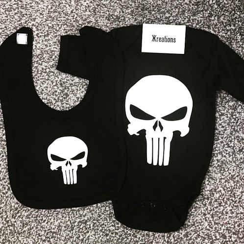The Punisher Baby Set