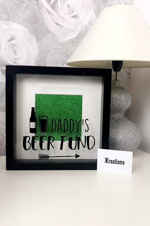 Daddy's Beer Fund Frame