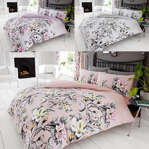 Eden Flower Printed Bedding Set