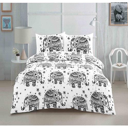 Elephant Hathi Grey Bedding Set