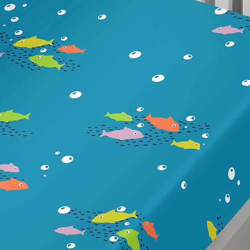Sea Life Kids Single Fitted Sheet