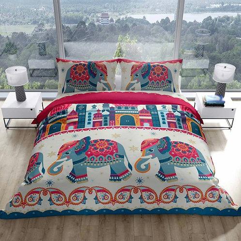 Arabian Nights Elephant Duvet Cover Set