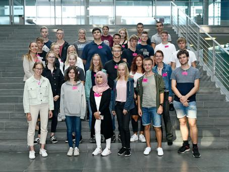 Abgeordnete für einen Tag - Planspiel im Bundestag