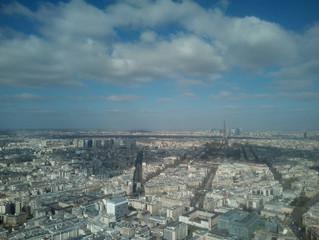 Große Höhen und große Berühmtheiten in Paris