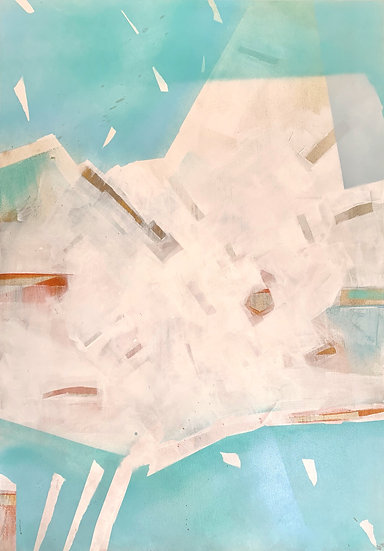 Huile sur toile,70 x 100 cm