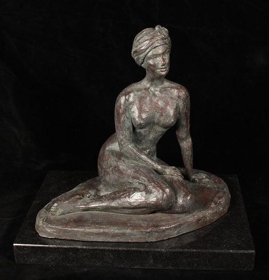 Bronze, H23 x L25 x P15 cm