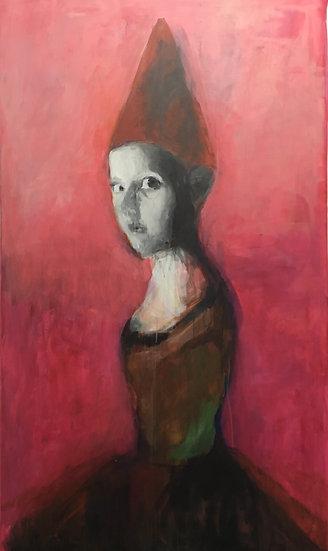 Huile sur toile, 190 x 110 cm