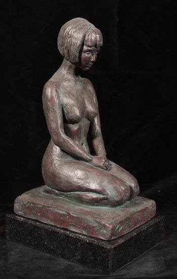 Bronze, H21 x L9 x P12,5 cm