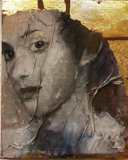 Huile sur toile, 41 x 33 cm