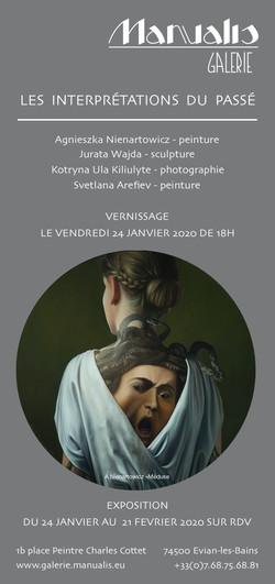 invitation expo 24 01 20 Galerie Manualis