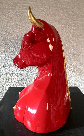 Résine acrylique, H39xL30xP25cm