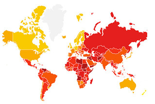 Ranking Transparency International za rok 2016