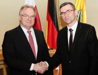 Wizyta Ambasadora w Saksonii-Anhalt